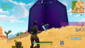 куб 300x169 - Большой фиолетовый куб в Fortnite