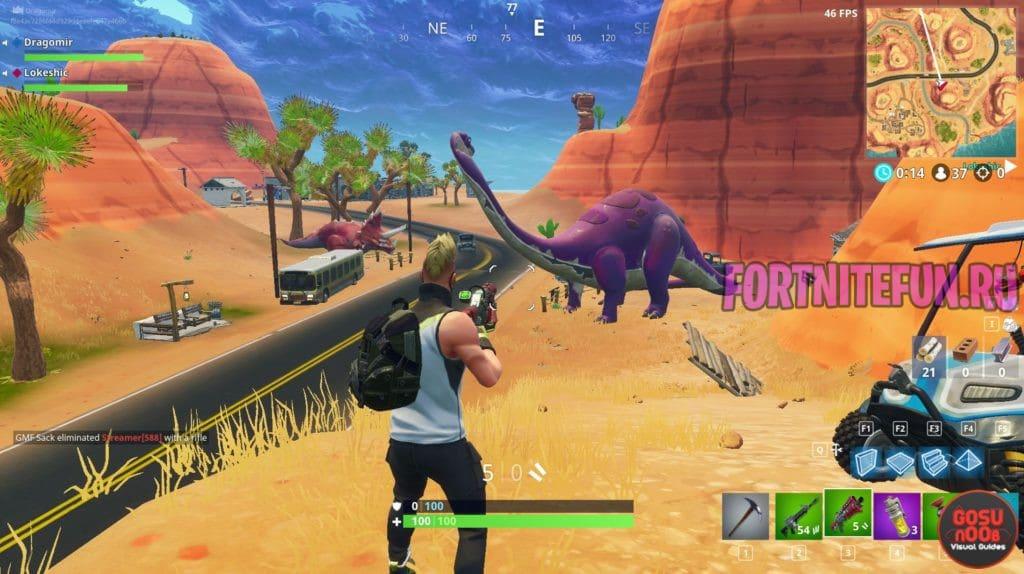 DinoIngame 1024x574 - Игроки слышат Динозавров в Засаленной Закусочной