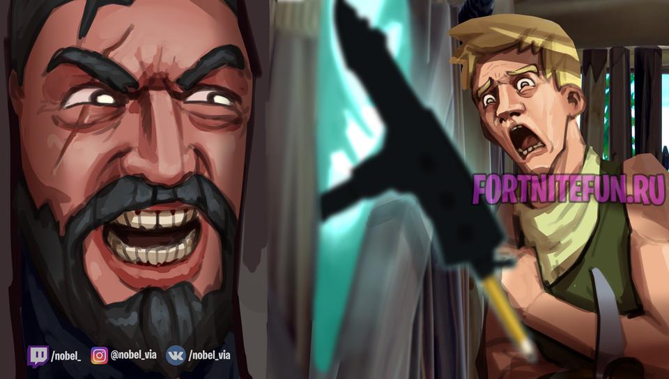 Noblebatterfly - Творчество игроков Fortnite: выпуск 1