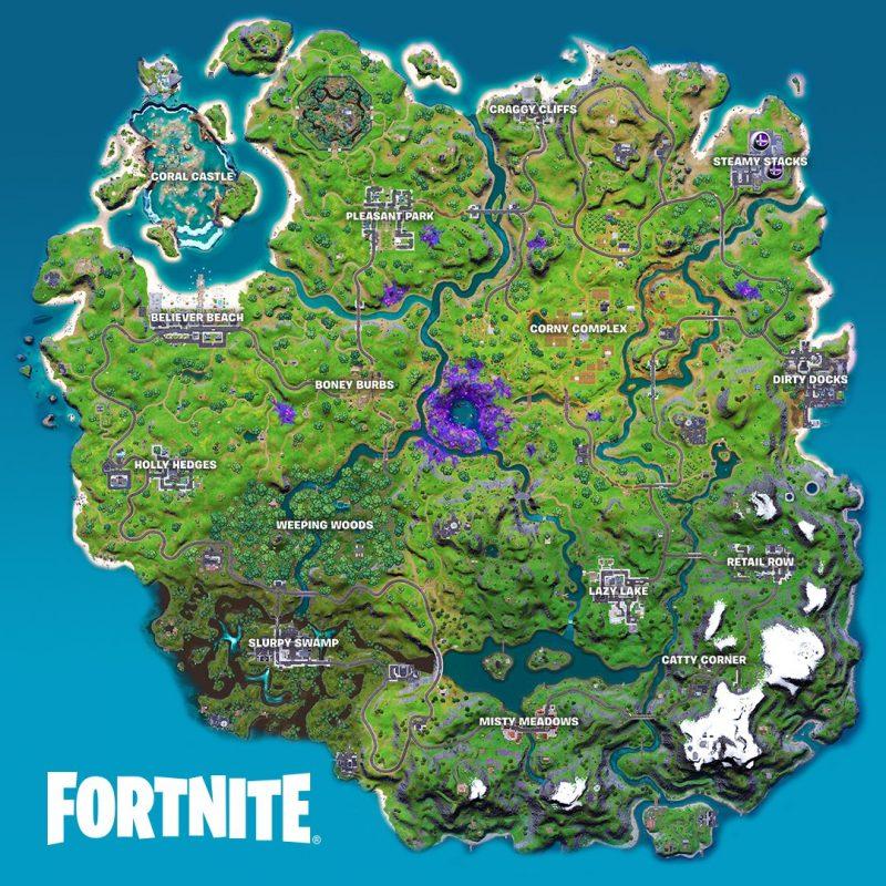 17 сезон 800x800 - Карта фортнайт