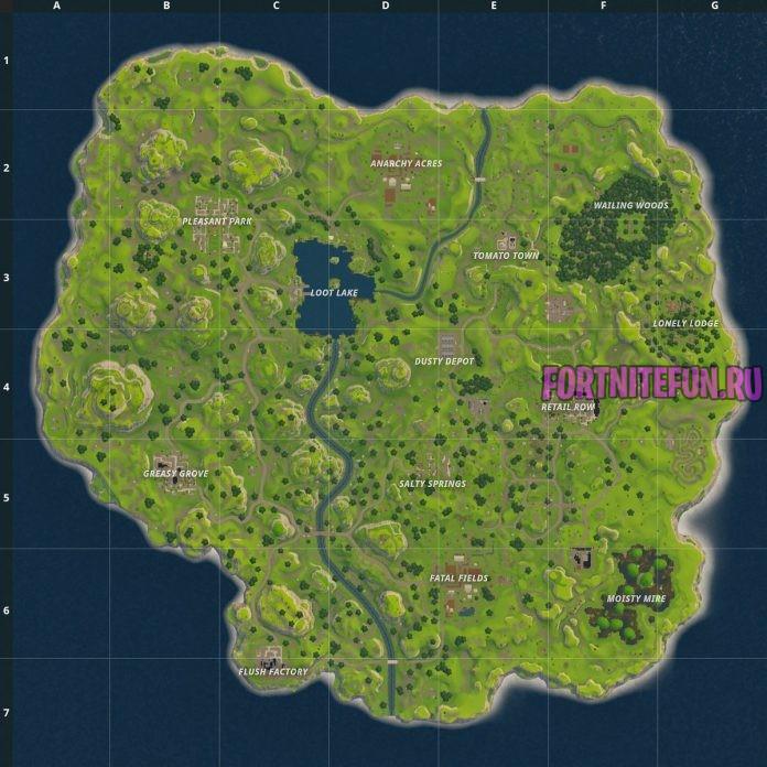 Fortnite Map Season 1 - Топ 5 идей для первого апреля в фортнайт
