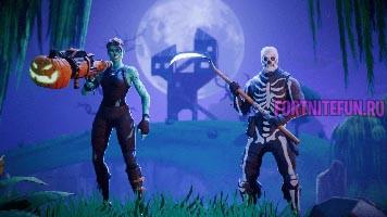 Fortnite Skull Trooper - Скины на Хэллоуин и возвращение Skull Trooper