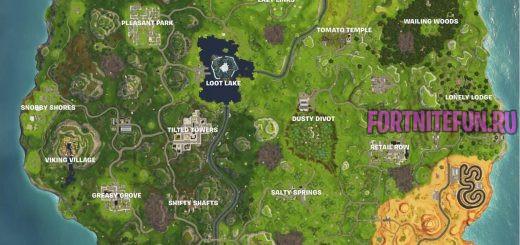 карта фортнайт сезон 6