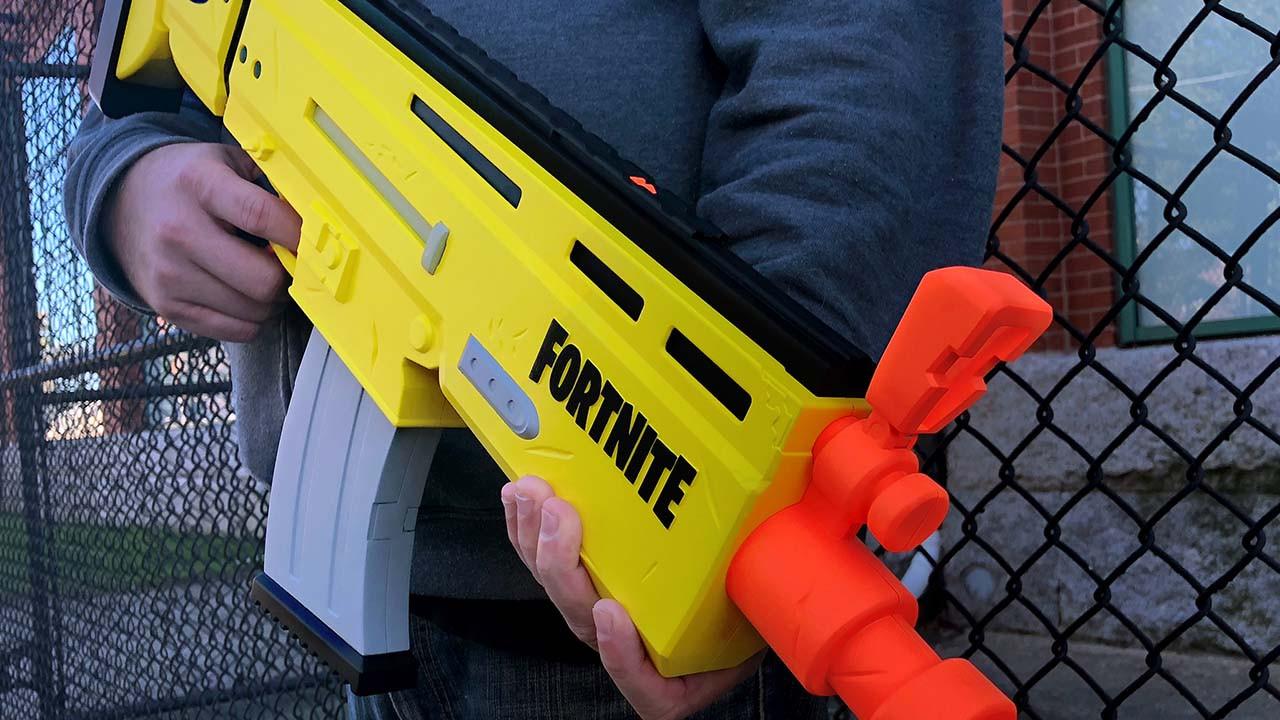 fortnite nerf blaster - Бластер Nerf в тематике Fortnite