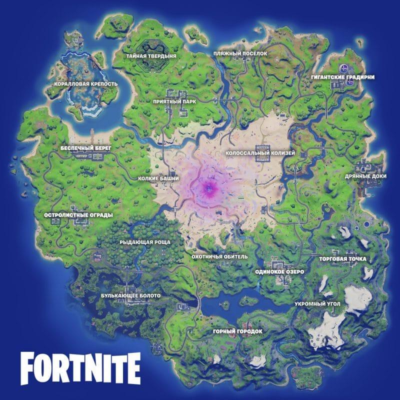 map 15 1 800x800 - Карта фортнайт