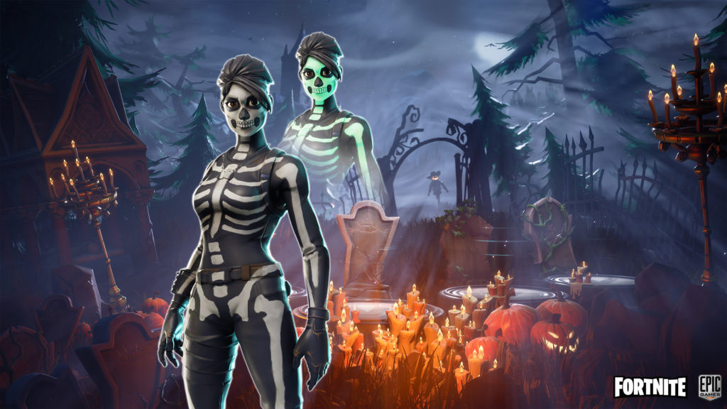 skull ranger fortnite wallpaper large 1024x576 - Топ-6 лучших скинов на Хэллоуин