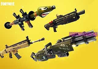 weapons main - Всё оружие фортнайт королевская битва