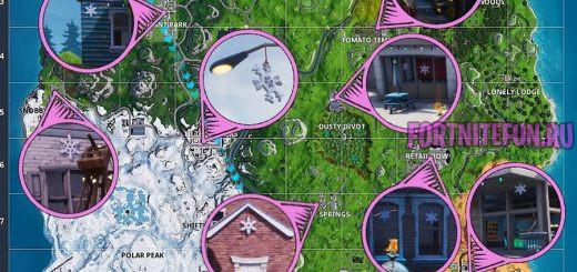 снежинок 520x245 - Уничтожайте украшения в виде снежинок