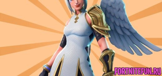 Ангел фортнайт
