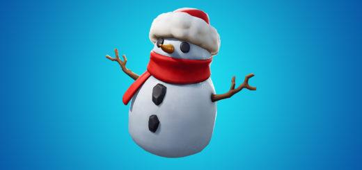 Снеговик фортнайт