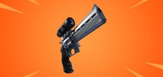 scopedrevolver 520x245 - Револьвер с оптическим прицелом скоро в Фортнайт