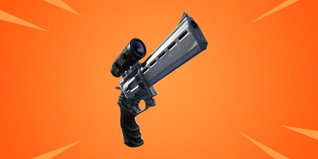 scopedrevolver - Револьвер с оптическим прицелом скоро в Фортнайт