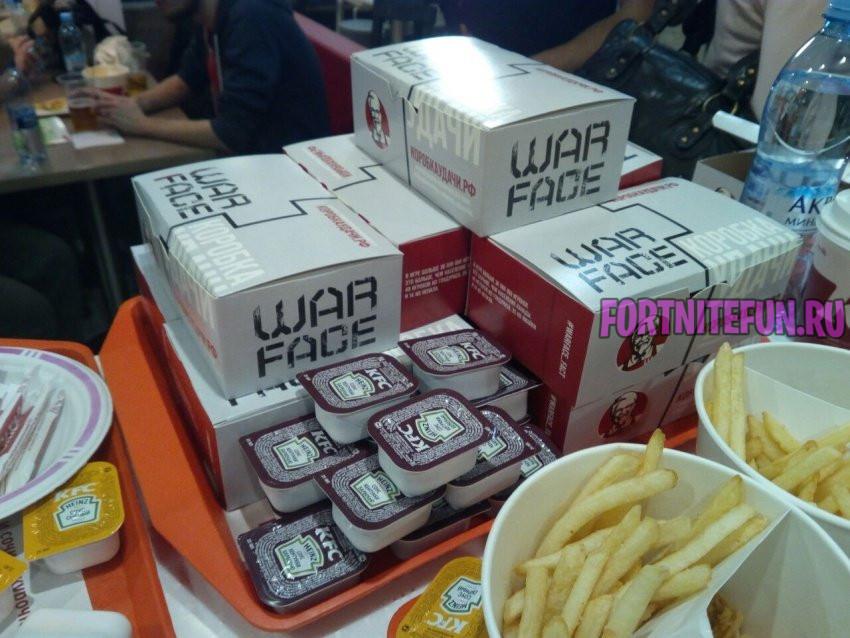 warface - Скин KFC для фортнайта - концепт