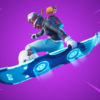 Летающий сноуборд