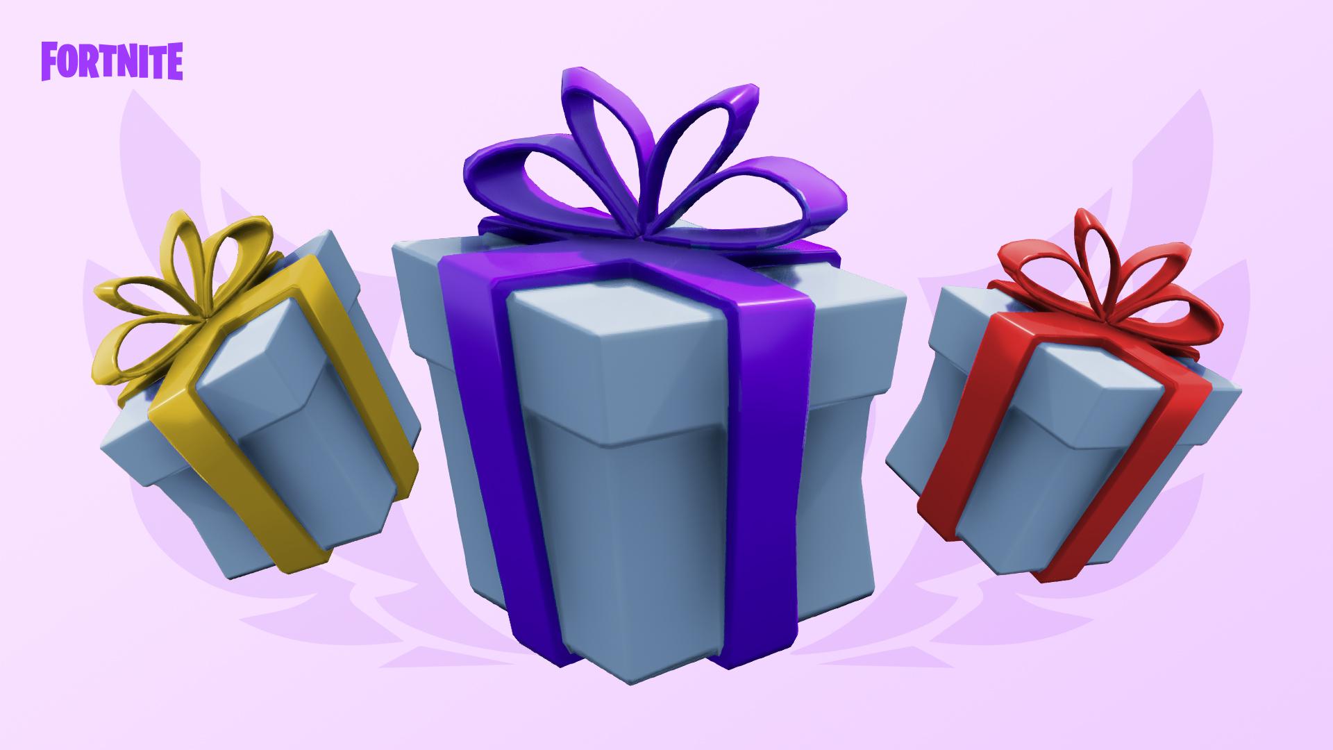 Gifting Purple - Обновления 7.40 для фортнайт