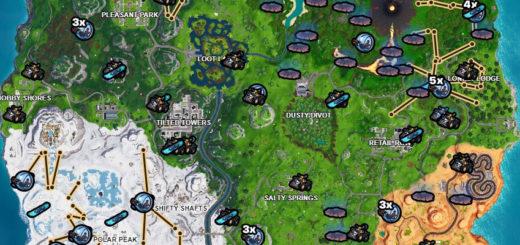 карта всего