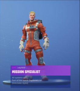 Mission Specialist 1 263x300 - Космонавты 3 сезона получили новые стили