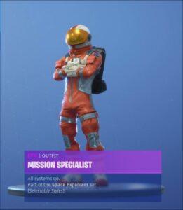 Mission Specialist 2 261x300 - Космонавты 3 сезона получили новые стили