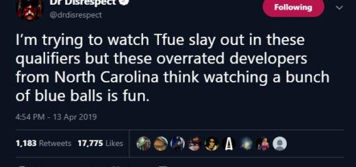 DrDisrespect 520x245 - Dr.Disrespect продолжает критиковать Epic Games