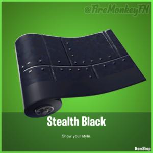 Stealth Black Fortnite Wrap 300x300 - Все скины фортнайт патча 8.40