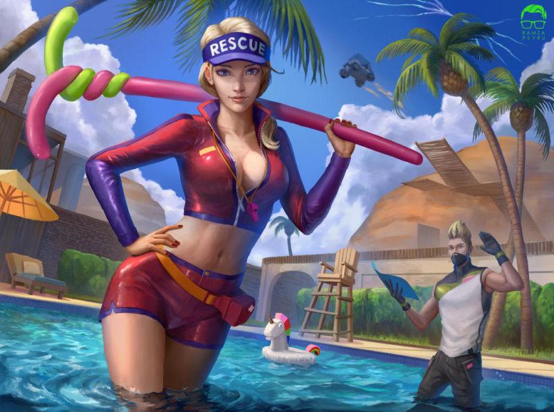 6 800x595 - Творчество игроков Фортнайт: выпуск 4