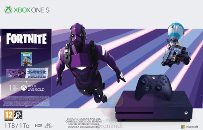 xbox one s vertex - Новый набор Xbox One S для фортнайт - слухи