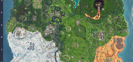 Карта обновления 8.20