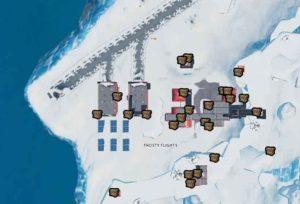 сундуков арктический ародром 300x204 - Испытания 5 недели 9 сезона — чит-карты и прохождение