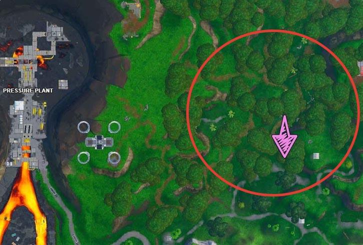 11 карта - Можно найти под кружащим попугаем из джунглей (Плата криптографии 11)