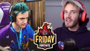 """Ninja PewdiePie Friday 300x170 - Ninja и PewDiePie сыграют в паре на турнире """"Пятничный фортнайт"""""""