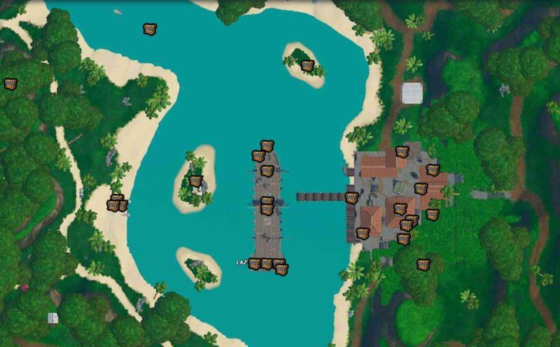 сундуков лагуна 800x496 - Испытания 9 недели 9 сезона — чит-карты и прохождение