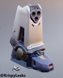 D dHr7nXUAASPpQ 243x300 - Ноги робота появились на Тепловых трубах