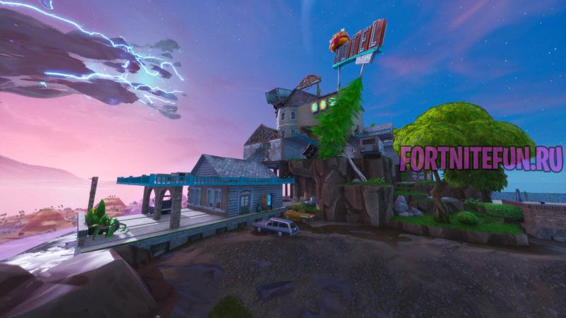 Fortnite Screensвhot 2019.09.03 15.09 800x450 - Парящий остров и Куб снова в Фортнайт!