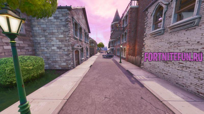 Fortnite Screenshot 20чч19.09.25 15.27 800x450 - Изменения карты в обновлении v10.4 — Прекрасный пригород, угрозы БРУТа и другое