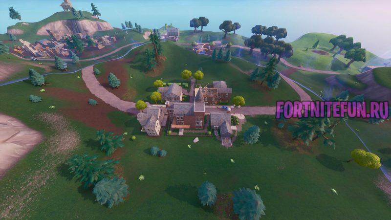 Fortnite Screenshot 2019.09.2ы5 15.27 800x450 - Изменения карты в обновлении v10.4 — Прекрасный пригород, угрозы БРУТа и другое