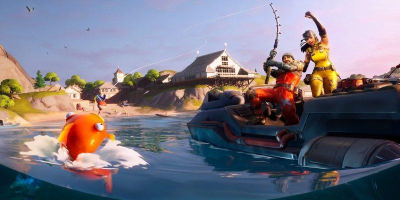 """Fortnite Chapter 2 Season 1 Loading Screen Leaked 2 800x400 - Испытания """"Большая вода"""" - чит-карты и прохождение"""