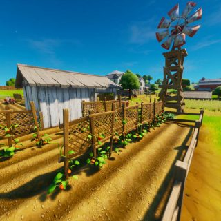Фатальная ферма (Frenzy farm) - локация фортнайт