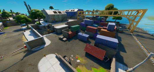 Дрянной док (Dirty docks) - локация фортнайт