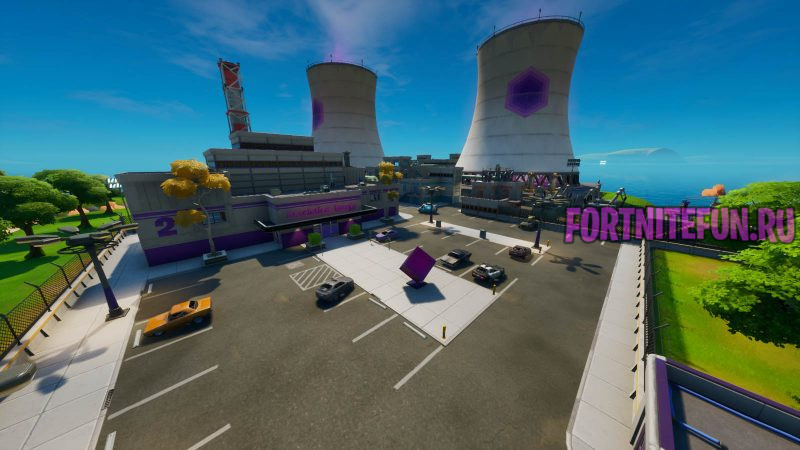 Fortnite Screenshot 2019.10.18 05.53.15.05 800x450 - Гигантские градирни (Steamy stacks)