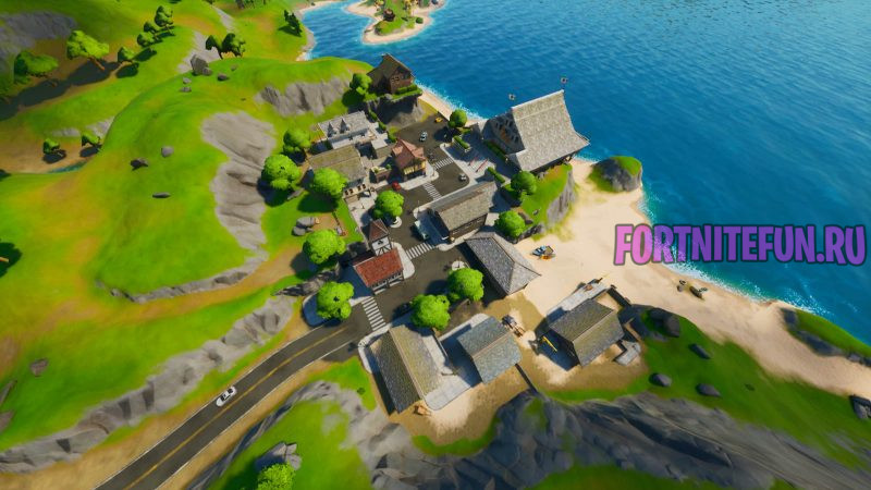 Fortnite Screenshot 2019.10.18 05.53.34.34 800x450 - Пляжный поселок (Craggy cliffs)