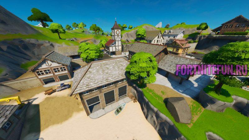 Fortnite Screenshot 2019.10.18 05.54.04.82 800x450 - Пляжный поселок (Craggy cliffs)