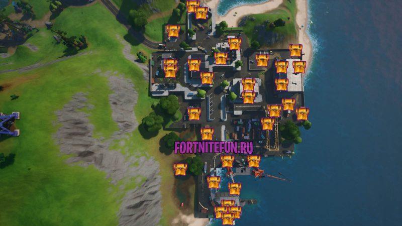 Fortnite Screenshot 2019.10.31 09.52 800x450 - Испытания «Переполох в порту» — чит-карты и прохождение