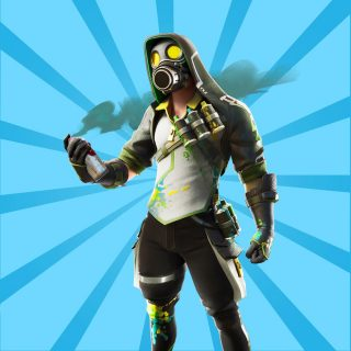 toxic tagger 320x320 - Все скины Fortnite