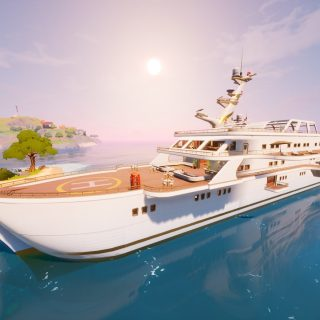 Яхта фортнайт
