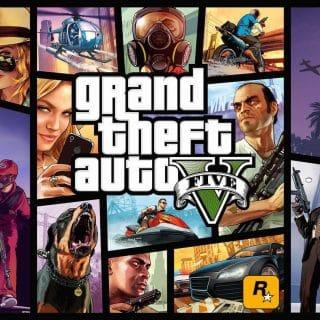 GTA 5 320x320 - В Epic Games Store раздают GTA 5 бесплатно