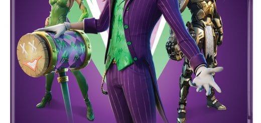 джокера 520x245 - Набор с Джокером и Ядовитым Плющом появится в фортнайт