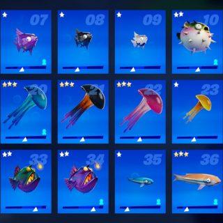 Рыбки в 14 сезоне фортнайт