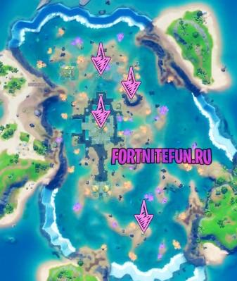 летающие кольца в Коралловой крепости - Испытания 5 недели 14 сезона фортнайт — чит-карты и прохождение
