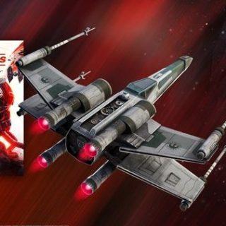"х в фортнайт 1 320x320 - Дельтаплан Истребитель типа ""X"" в подарок за предзаказ Звездных войн"