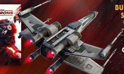 "х в фортнайт 1 406x245 - Дельтаплан Истребитель типа ""X"" в подарок за предзаказ Звездных войн"
